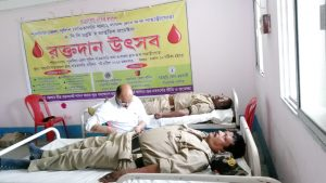 Blood Donation CAMP UNDER SANTALDIH PS ON 07-04-2015