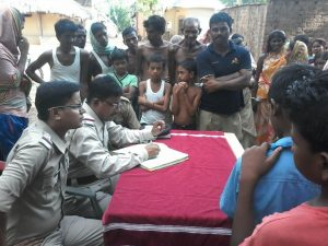 POLICE ASSISTANCE BOOTH AT MANBAZAR PS ON 18.06 .15-3